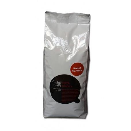 Qubik caffé 100% arabika Brazília Rio Verde 1kg