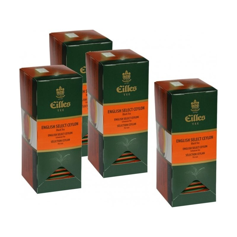 Eilles Tea English Select Ceylon, 4 x 25 ks