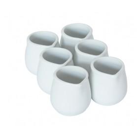 Porcelánová nádoba na mliečko 0,05 l 1 ks