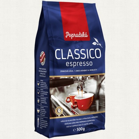 Popradská Classico Espresso 500 g