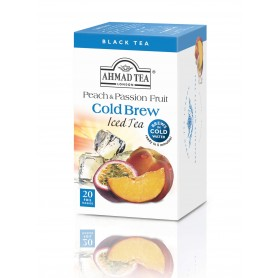 Ahmad Tea Cold Brew Iced Tea Peach & Passion Fruit 20 x 2 g