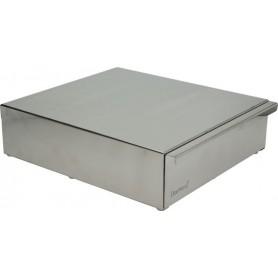 Nerezový box na použitú kávu 315x270x85