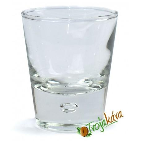 Pohár na minerálnu vodu bez potlače