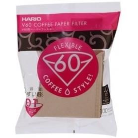 Hario filtre V60-01 100 ks nebielené (VCF-01-100M)