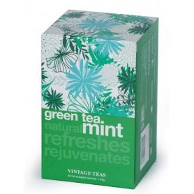 Vintage Zelený čaj s mentolom