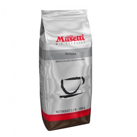 Musetti Rossa 60% arabika 40% robusta 1000 g