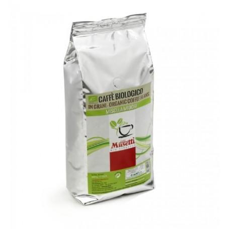 Musetti Bio Midori Organic zrnková káva 1kg