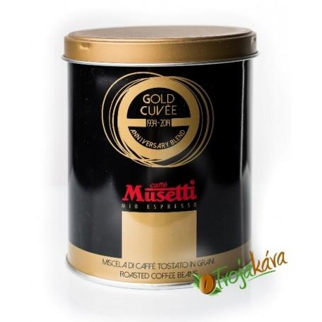 Musetti Gold Cuvee 250 g zrnková káva
