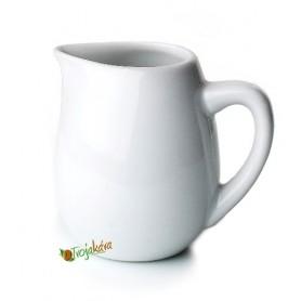 Rosa porcelánová nádoba na mliečko 0,1 l