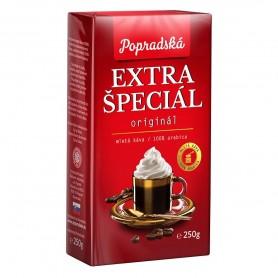 Popradská káva Extra špeciál pražená mletá káva 250 g