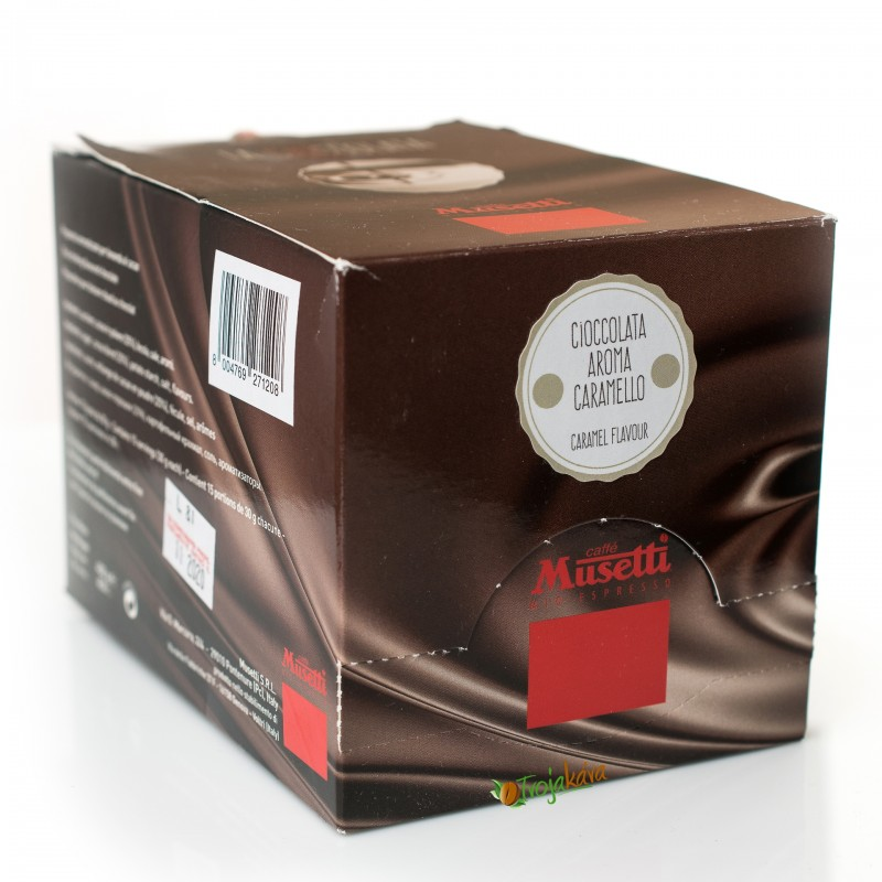 Musetti horká čokoláda 15ks x 30 g