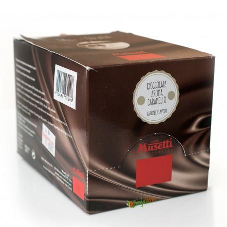 Musetti horká čokoláda karamel 15 ks x 30 g