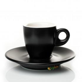 Giacinto šálka espresso čierna matná 65 ml