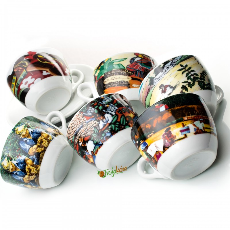 Šálky na cappuccino Style set