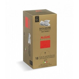 Musetti káva mletá porciovaná Evoluzione 100% 18ks/125g