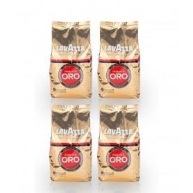 Lavazza Qualita Oro zrnková káva 4 x 1 kg