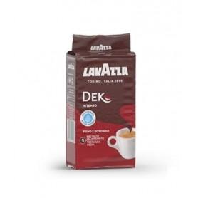 Lavazza Dek Intenso mletá káva bez kofeinu 250 g
