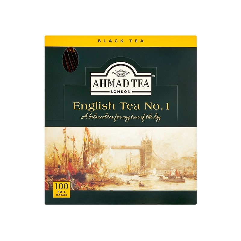 Ahmad English Tea No.1 alu sáčky 100 ks x 2 g