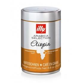 Illy Ethiopia zrnková káva 250 g