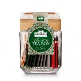 Ahmad Tea My Little Teabox sklenená dóza 25 x 2 g
