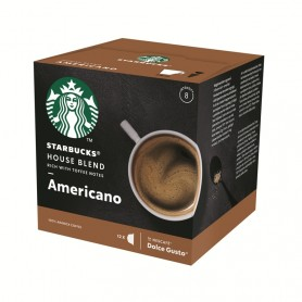 Starbucks Dolce Gusto Americano House blend 12 ks