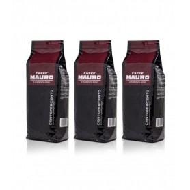 3 x Mauro caffé Centopercento zrnková káva 1 kg