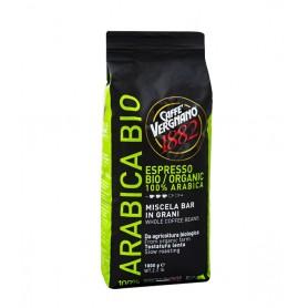 Vergnano 100% Arabica Organic zrnková káva 1 kg
