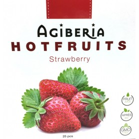 Agiberia Hot fruits jahoda 25x  20 g