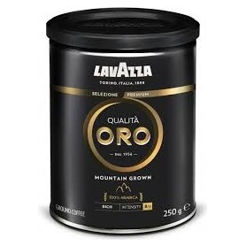 Lavazza Qualità Oro Mountain Grown mletá dóza 250 g