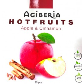 Agiberia hot fruits jablko so škoricou 25ks x 20 g