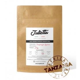 Julietta Tanzania Ipyana čerstvo pražená  zrnková  káva 250 g