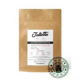 Julietta Peru Aurora Bio čerstvo pražená zrnková káva 250 g