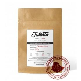 Julietta Ethiopia Limmu Kossa čerstvo pražená zrnková káva 250 g